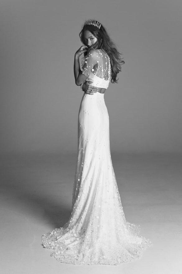 Vestido corte recto de R de Rime Arodaky