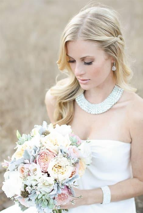 las joyas complemento brillante para el look de la novia