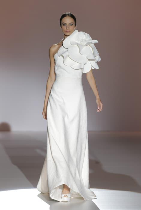 Juana Martín, vestido de novia blanco
