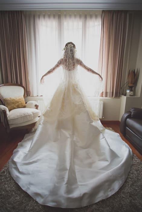 Vestido de novia de Nicolás Costura