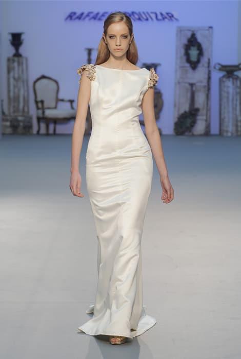 Rafael Urquizar vestido de novia