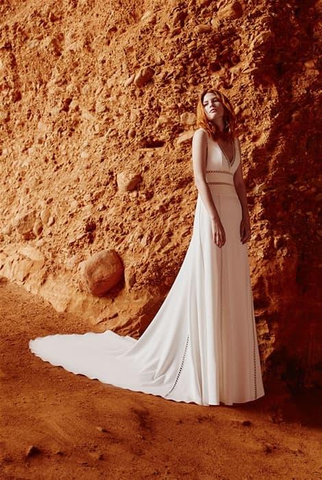 Silvia Fernández, vestido de  novia colección 2020
