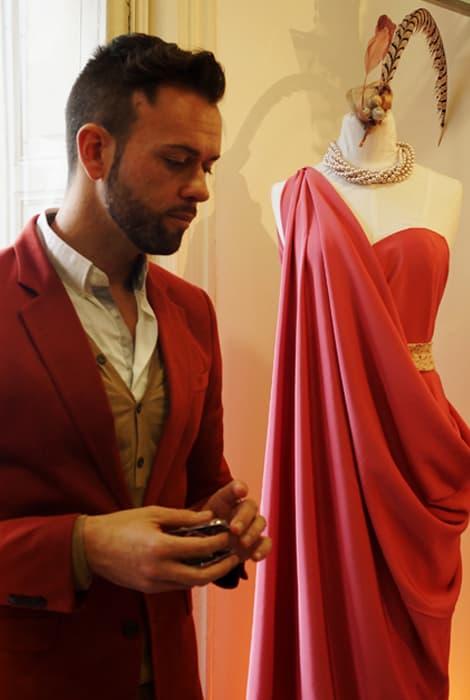 Javier Quintela en su atelier