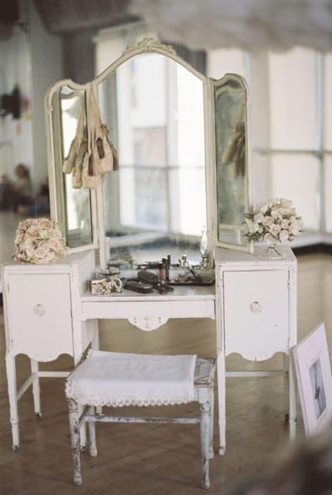 Un Beauty Corner para tus invitadas de boda