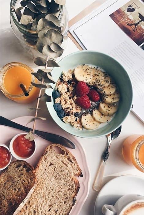 Comienza el día de tu boda con un buen desayuno