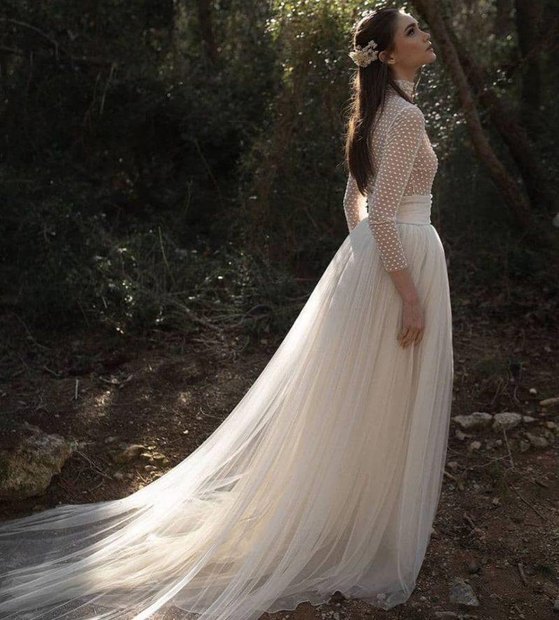 Conjunto de dos piezas para novias de Ramón Herrerías