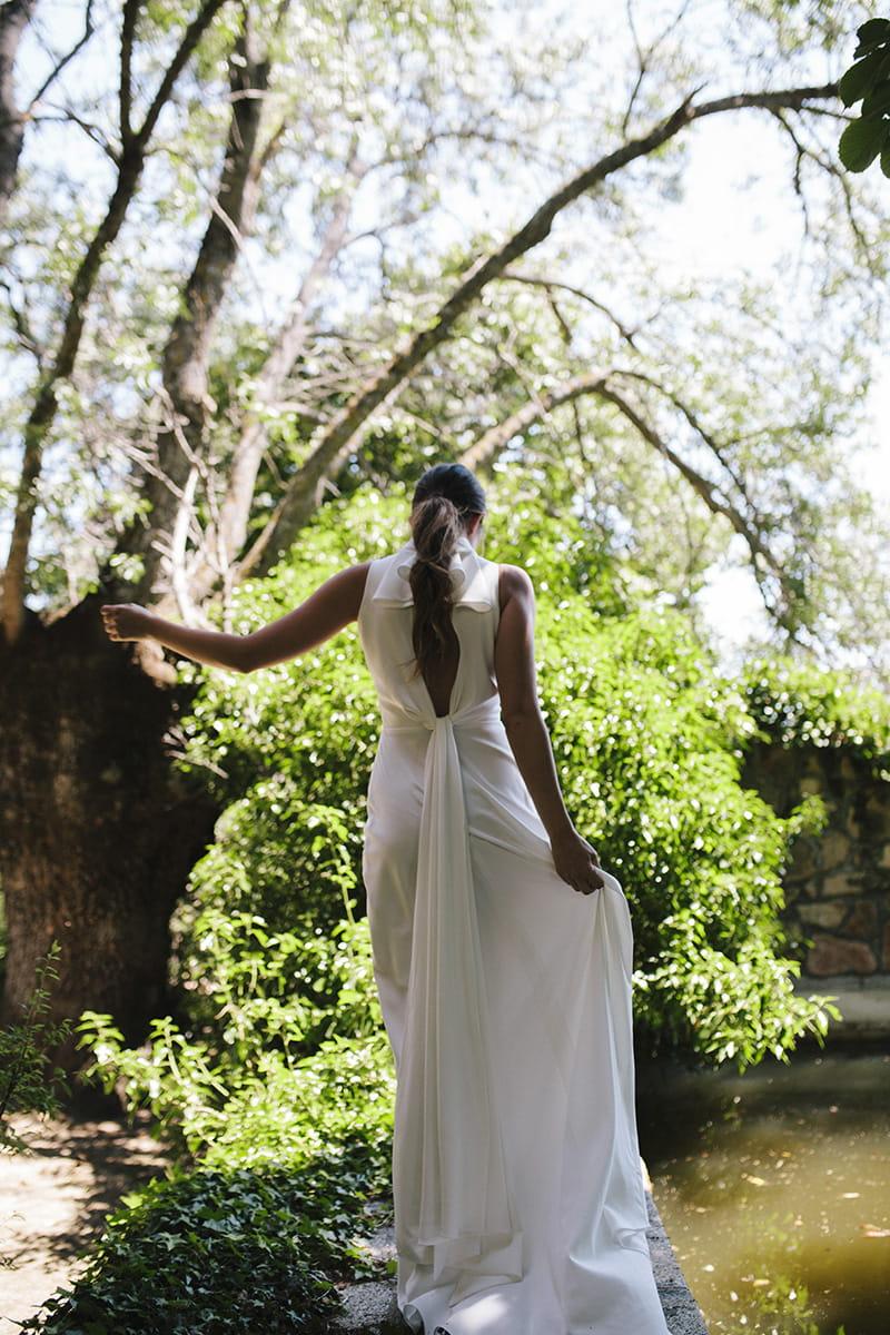 Vestido de novia de Beba's modelo Adhara colección 2021