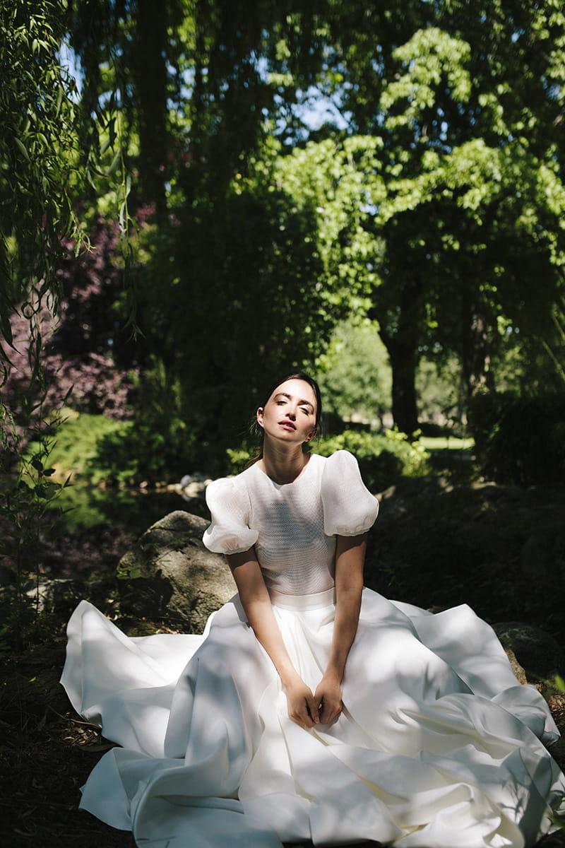 Vestido de novia de la nueva colección 2021 de Beba's
