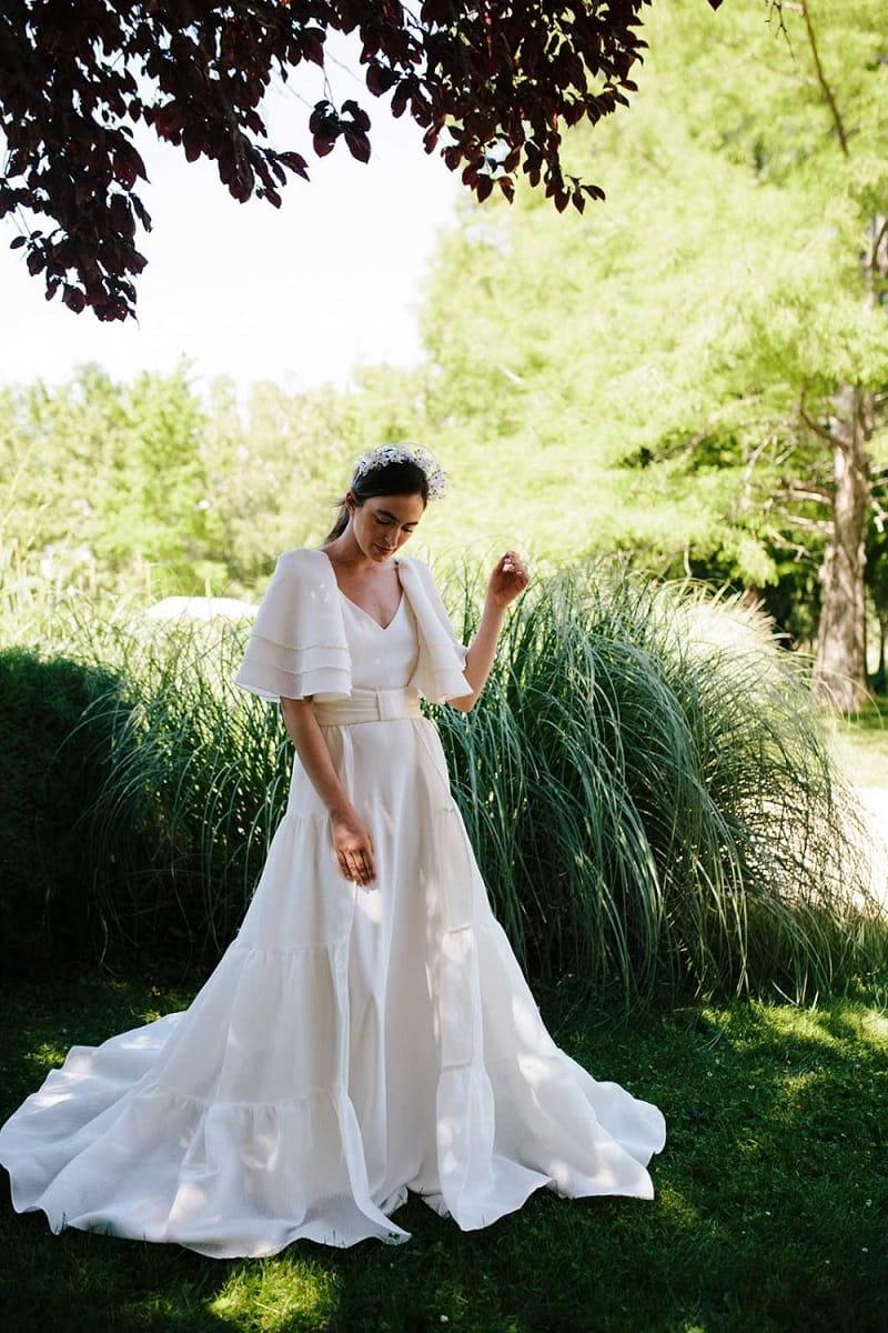 Vestido de novia de Beba's colección 2021 modelo Zahina