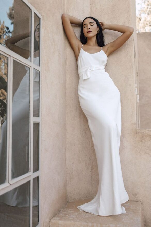 Charlie Brear vestido novia 2021
