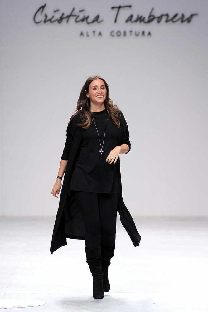 Cristina Tamborero cerrando desfile VBBFW 2019