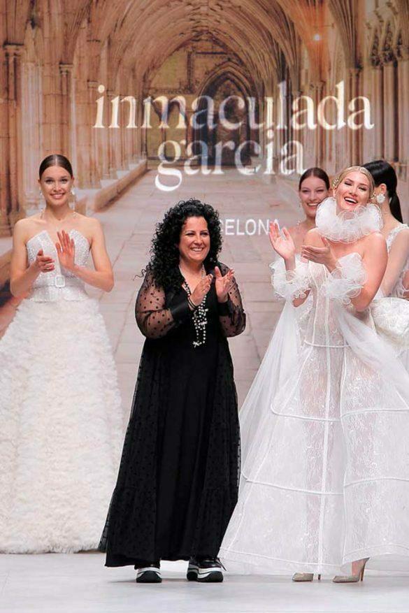 Inmaculada García, cierre desfile VBBFW