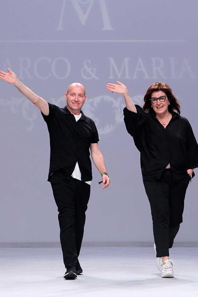Marco y María, cerrando desfile VBBFW 2019