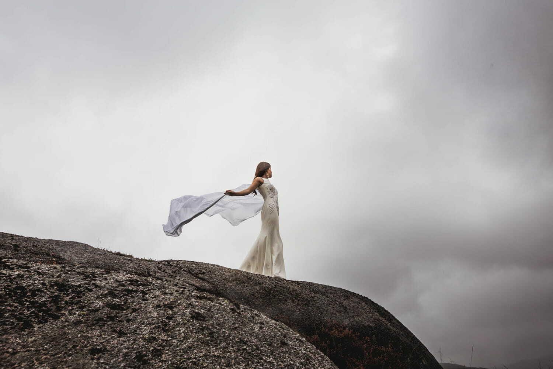 Montse Arias Costura, vestido novia colección bruma