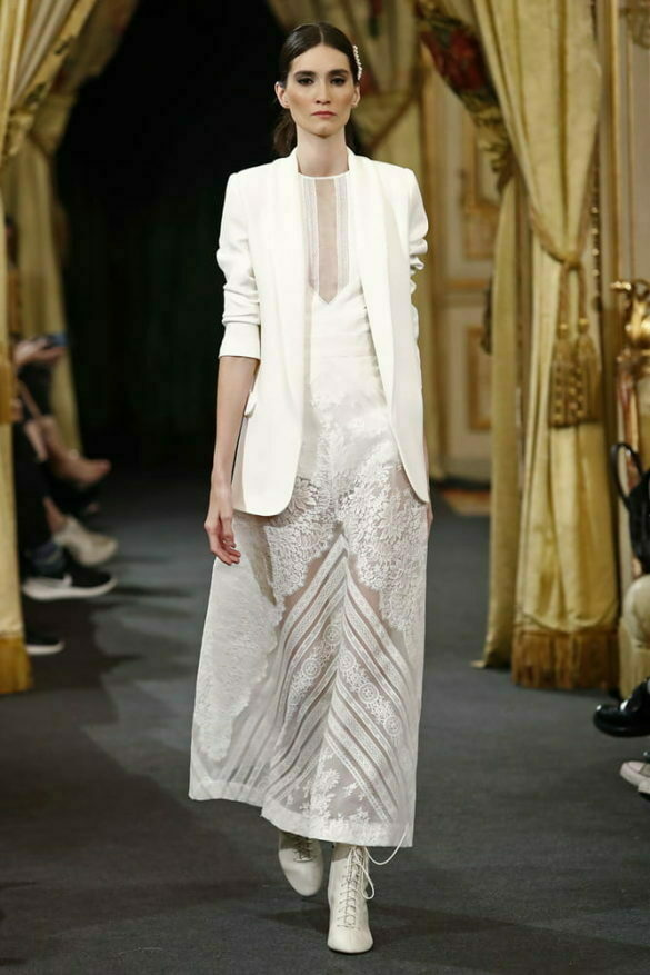 Santos Costura, vestido novia colección 2020