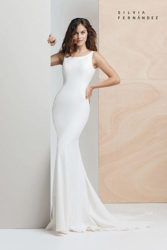 Silvia Fernández vestido de novia colección identity 2020