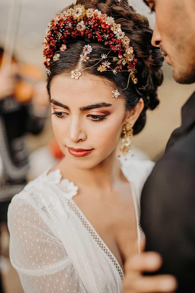 Inspiración para novias de estilo mexicano