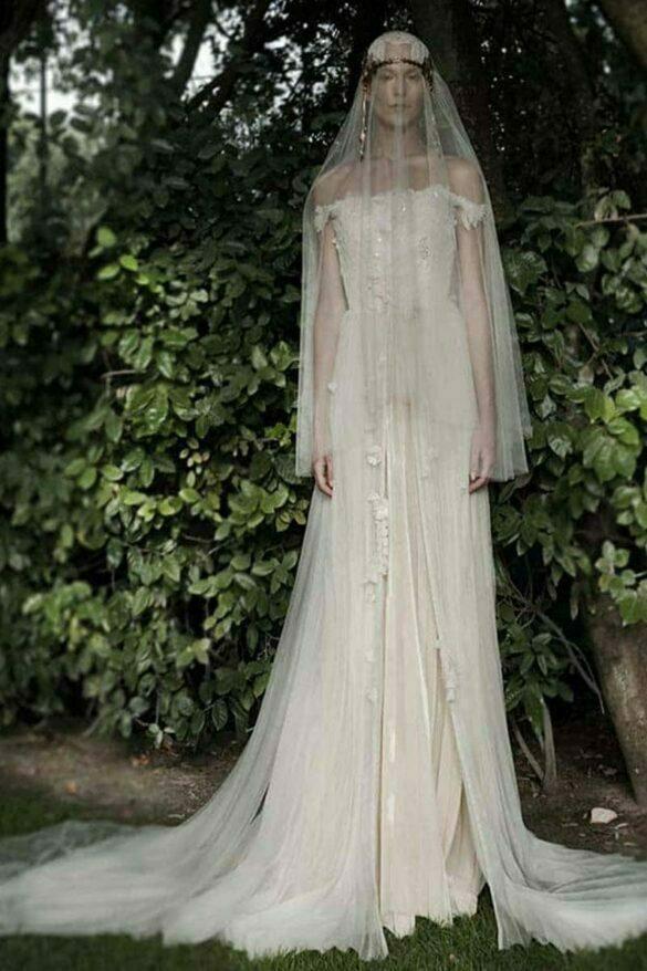 Elisabetta Delogu, vestido novia colección 2021 New Eva
