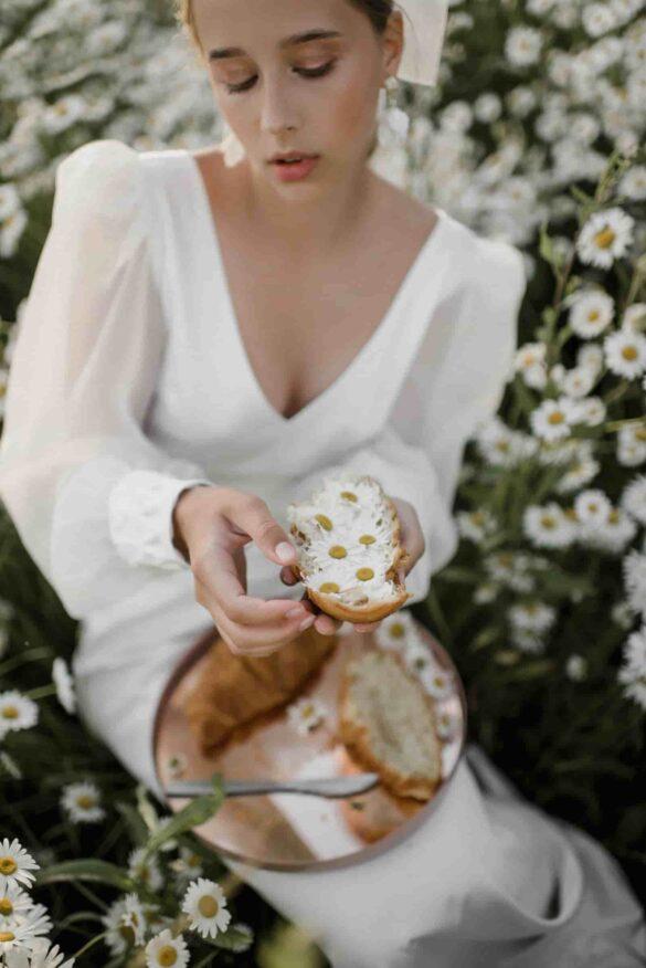 Inspiración para novias que se casan en el campo