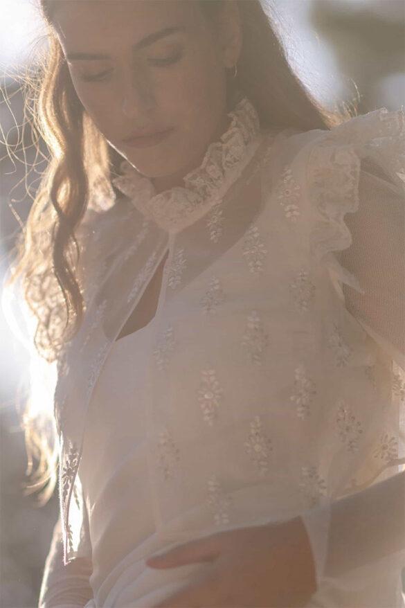 Vestido novia Marta Martí colección 2021