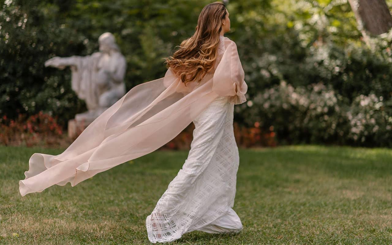 Abrigo de novia de Marta Martí