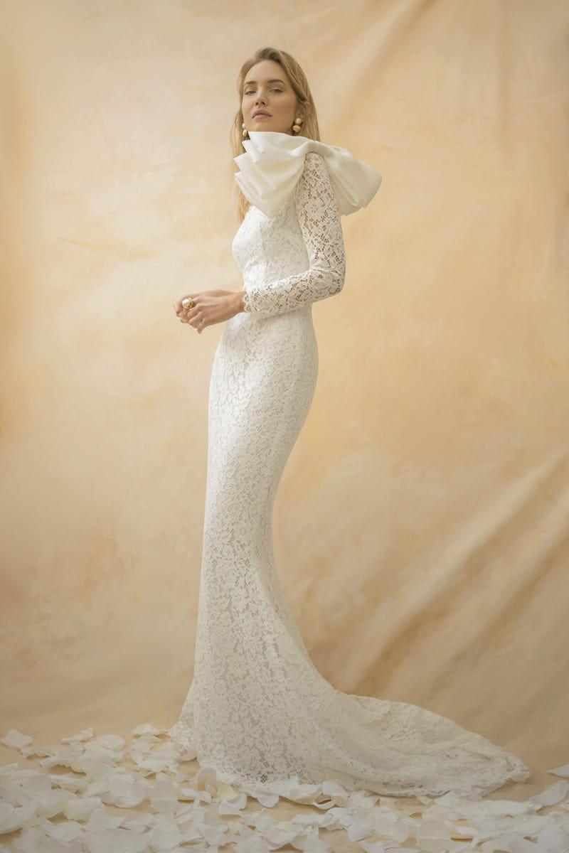 Vestido de novia de Nicolás Montenegro colección 2021