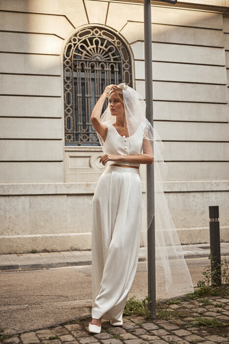 Conjunto de novia de L'arca Barcelona