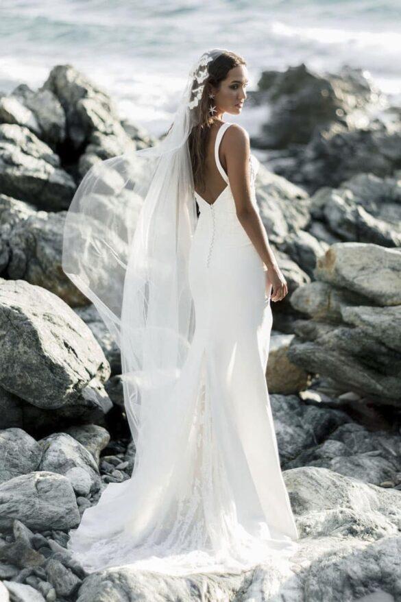 Rime Arodaky vestido de novia colección goddess 2021