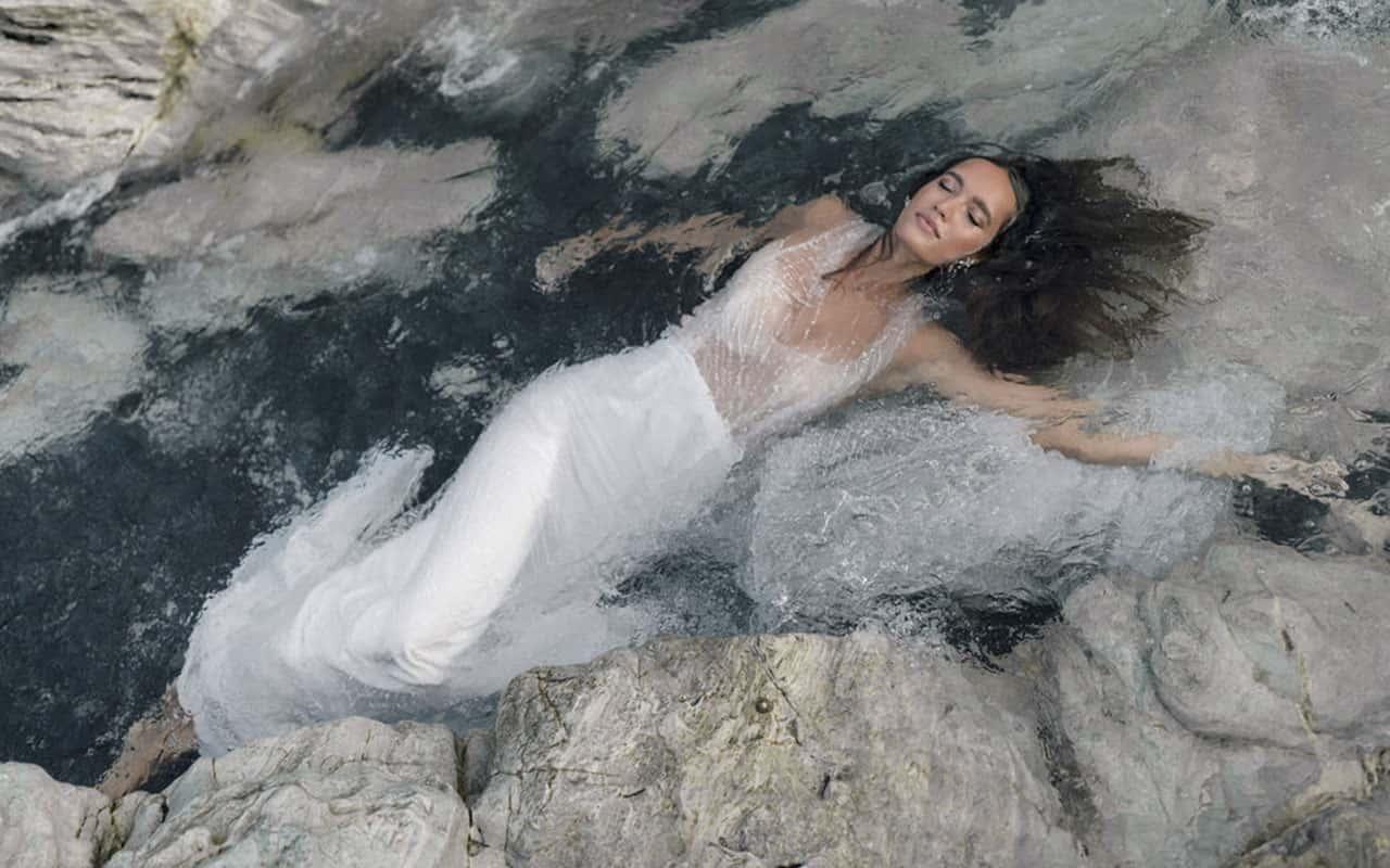 Vestido de novia de Rime Arodaky colección 2021 Goddess