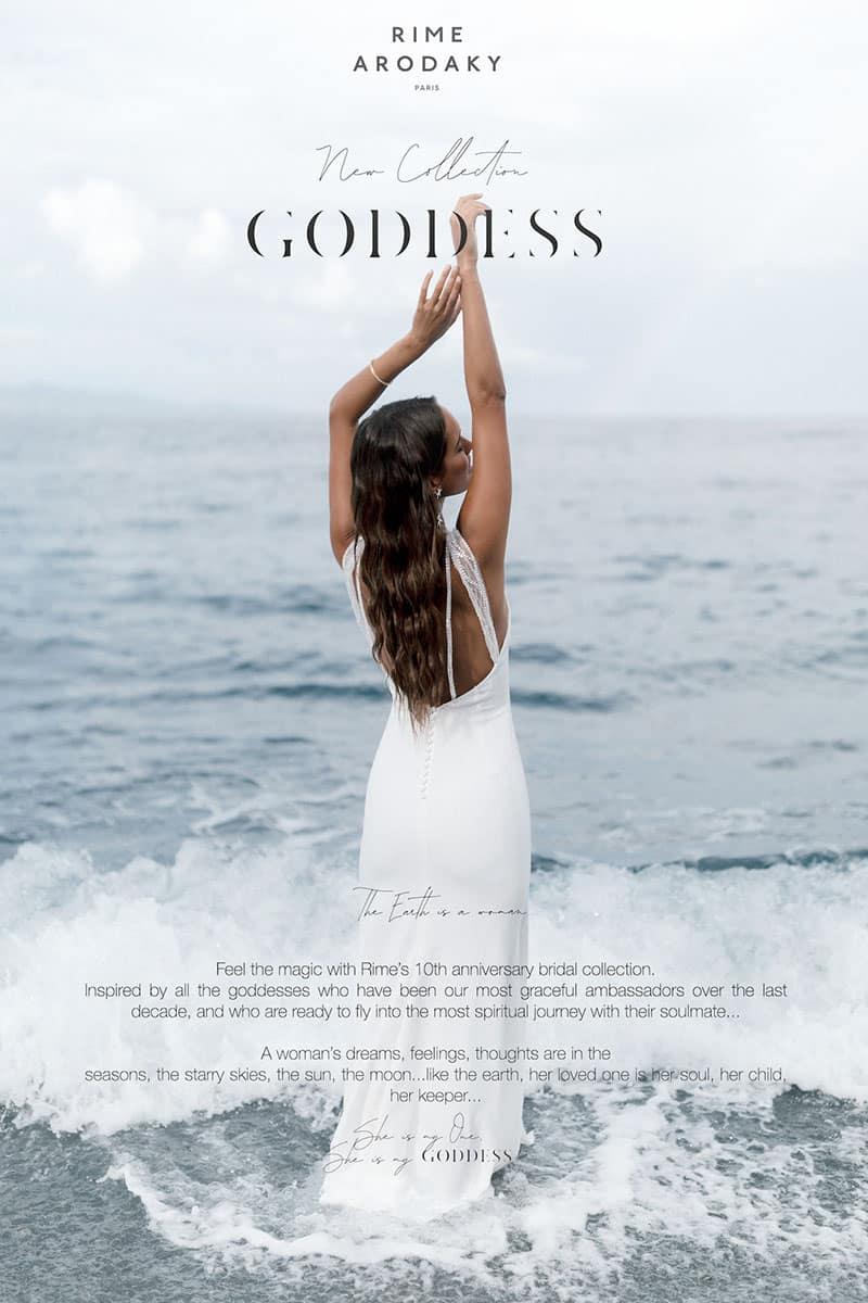 Colección de vestidos de novia de Rime Arodaky 2021