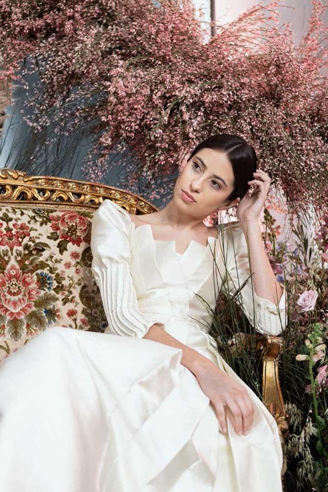 Sara Lage, vestido de novia colección 2020 Fin de la Tormenta