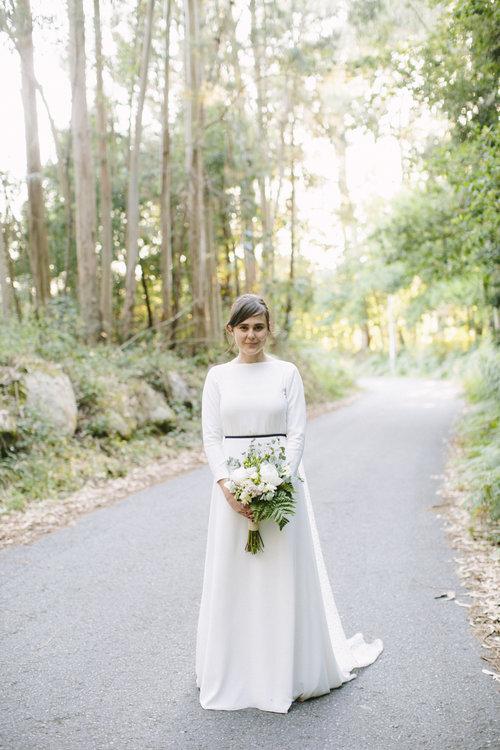 Vestido de novia de Franco Quintáns