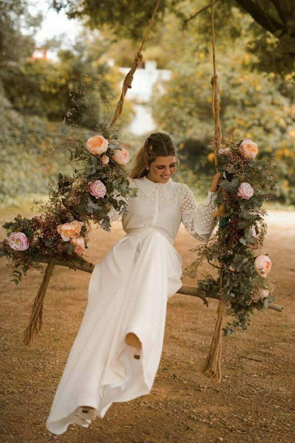 Vestido de novia de Martha Peters colección 2021