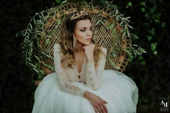 Vestido de novia de Belúlah colección 2021 Preludio
