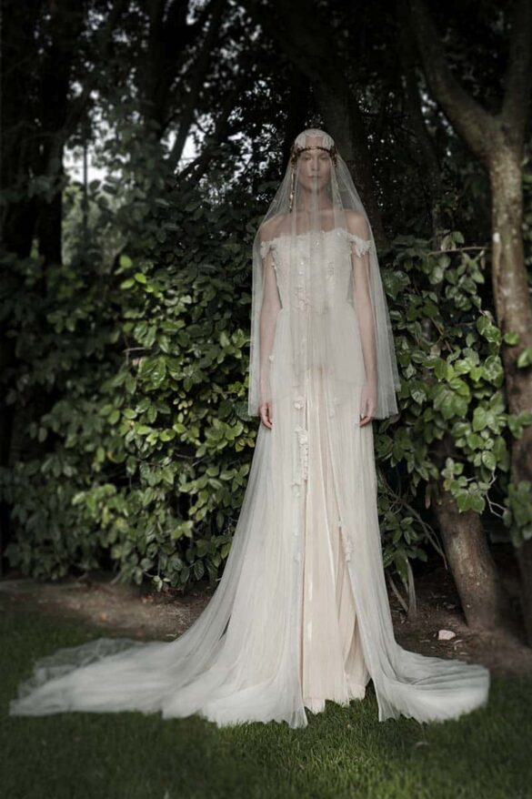 Elisabetta Delogu, portada colección novia 2021
