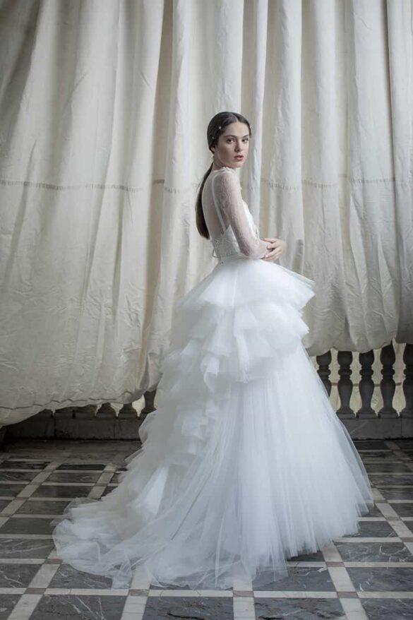 Vestido de novia de Marco&María colección 2021