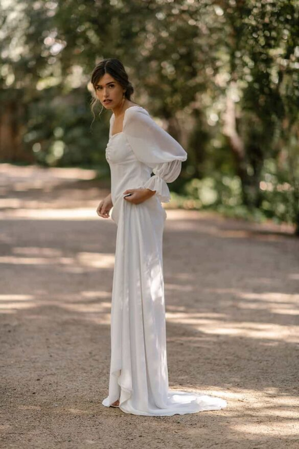 Vestido de novia de la colección 2021 de Marta Martí