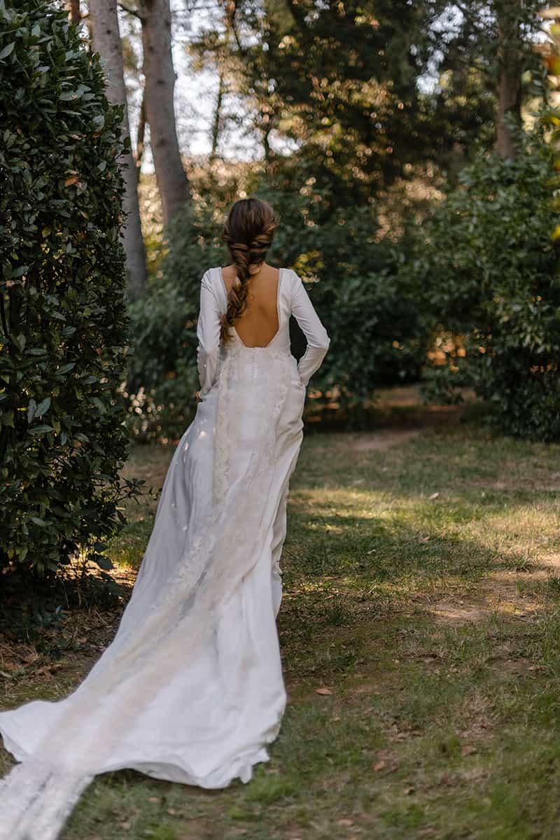 Marta Martí vestido de novia de su colección 2021
