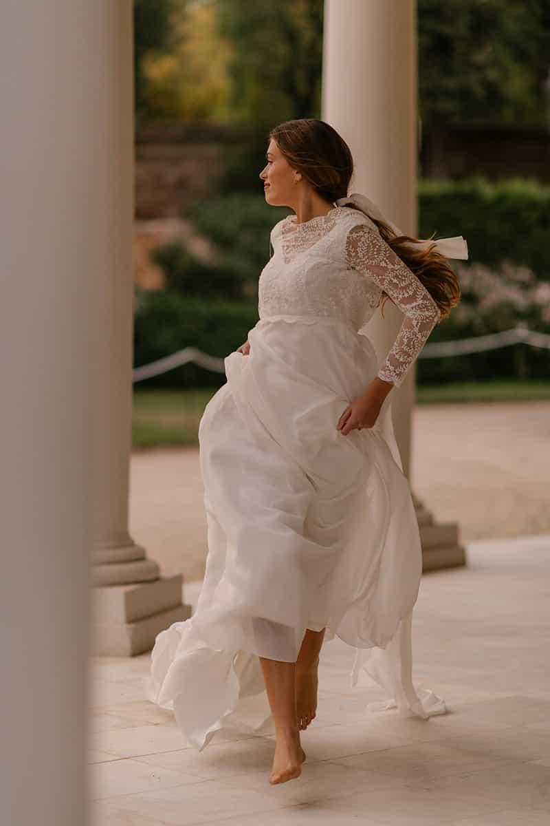 Vestido de novia de Marta Martí colección 2021