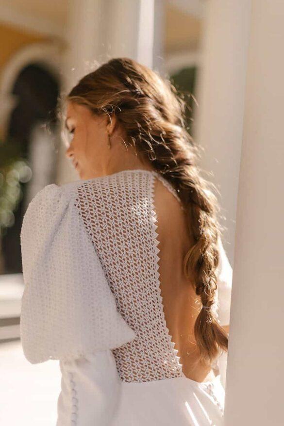 Vestido de novia de Marta Martí, colección 2021, L'Année