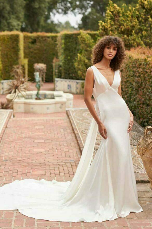 Vestido de novia Monique Lhuillier colección BLIS otoño 2021