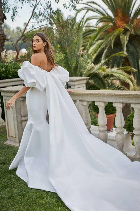 Vestido de novia de Monique Lhuillier colección 2021