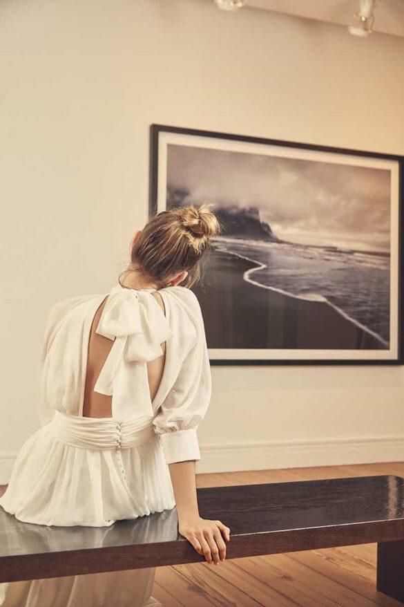 Vestido de novia de Nonne colección 2021