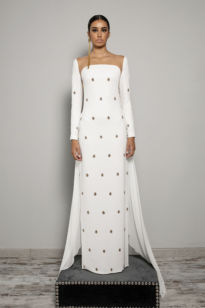 Rafael Urquizar vestido novia 2021