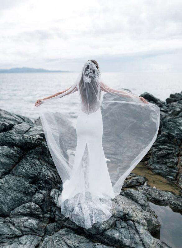 Vestido de novia de Rime Arodaky colección 2021, GODDESS