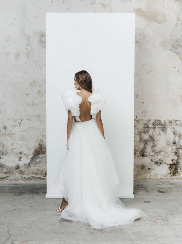 Vestido de novia de Rime Arodaky colección 2021 LES PREMIERES