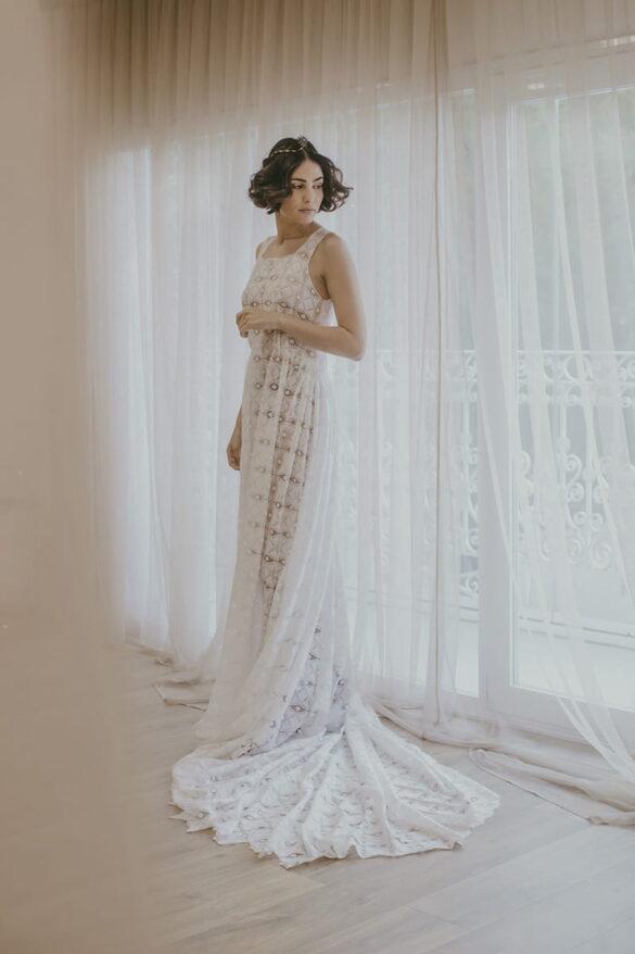 Victoria Salas vestido de novia colección 2021