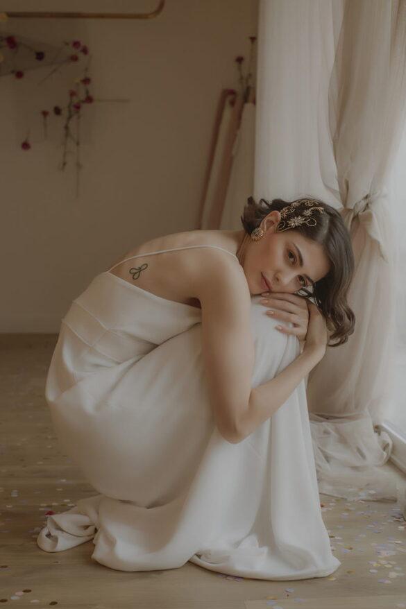 Victoria Salas vestido de novia 2021 modelo BATISTE