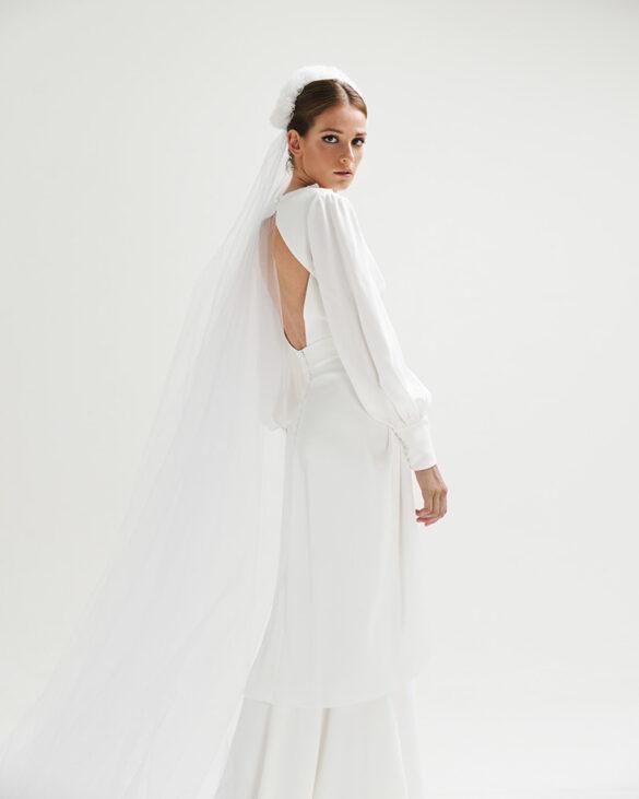 Vestido de novia Inúñez colección 2021