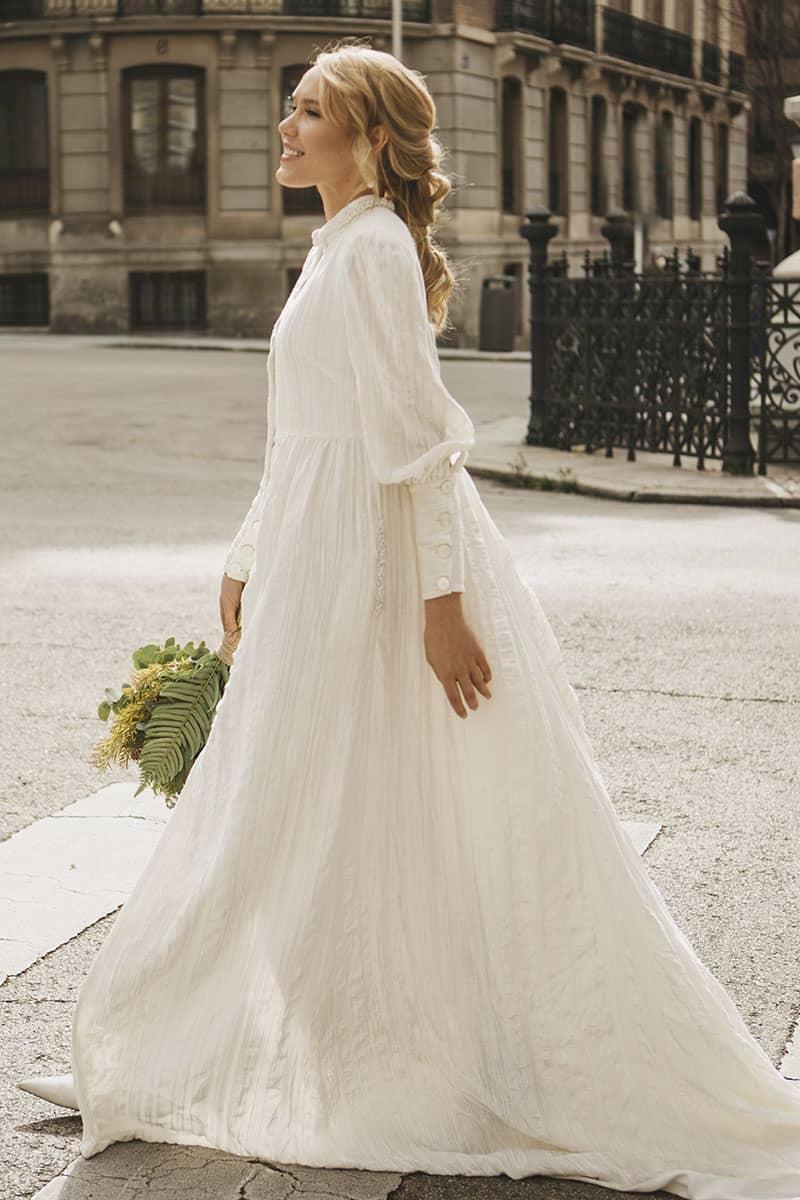 Vestido de novia de Lucía de Miguel colección 2021